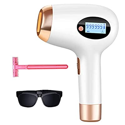 Hair Removal for Women and Man hair removal UPGRADE to 999,999 Permanent Flashes Facial body Profesional Hair Remover Device?A2